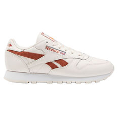 Reebok Classic Leather Womens Casual Shoes Pink/White US 6, Pink/White, rebel_hi-res