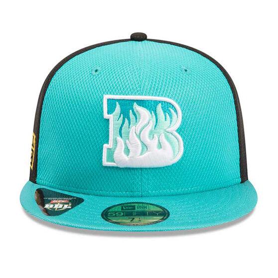Brisbane Heat New Era 59FIFTY Home Cap, Blue, rebel_hi-res