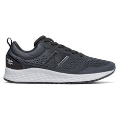 New Balance Fresh Foam Arishi v3 Womens Running Shoes Black/White US 6, Black/White, rebel_hi-res