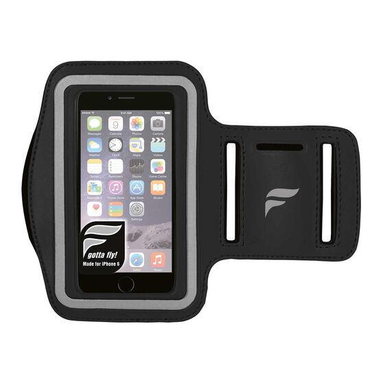 Fly Active iPhone 6 Audio Armband Black OSFA, Black, rebel_hi-res