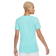 Nike Womens Sportswear Essential Tee Blue XS, Blue, rebel_hi-res