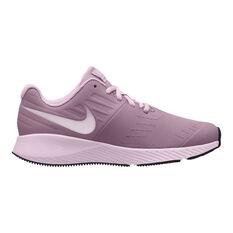 Nike Star Runner Kids Running Shoes Pink US 4, Pink, rebel_hi-res