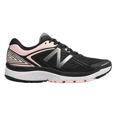 New Balance 860v8 Womens Running Shoes Black / Pink US 6, Black / Pink, rebel_hi-res