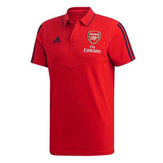 Arsenal FC 2019/20 Mens Polo, Red, rebel_hi-res