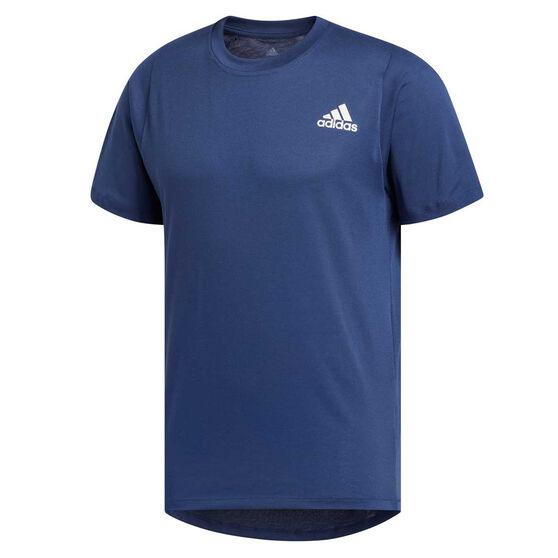 adidas Mens FreeLift Sport Prime Climalite Training Tee, Blue, rebel_hi-res