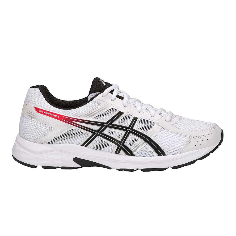 47d30e913cd Asics GEL Contend 4 Mens Running Shoes White   Black US 7