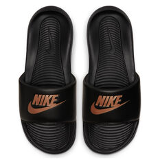 Nike Victori One Womens Slides Black US 6, Black, rebel_hi-res