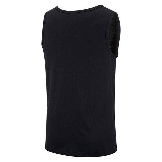 Nike Mens Sportswear Icon Futura Tank, Black, rebel_hi-res