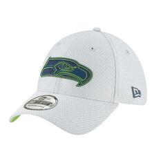 4063f36d944 Seattle Seahawks New Era 39THIRTY Grey Training Cap