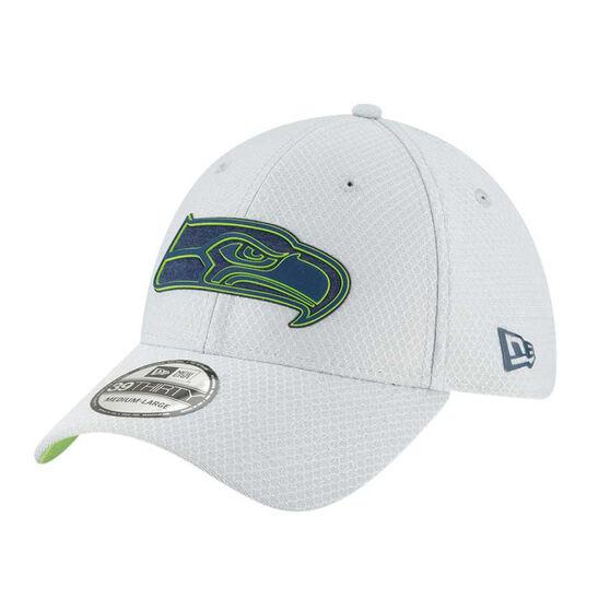 Seattle Seahawks New Era 39THIRTY Grey Training Cap M - L, , rebel_hi-res
