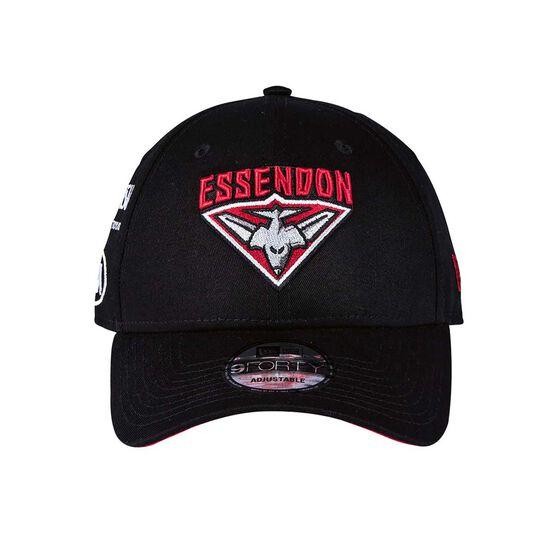 new product e8409 356ec Essendon Bombers 2018 New Era 9Forty Media Cap OSFA, , rebel hi-res