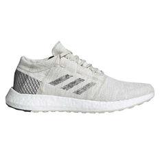 adidas Pureboost GO Mens Running Shoes Grey / White US 7, Grey / White, rebel_hi-res