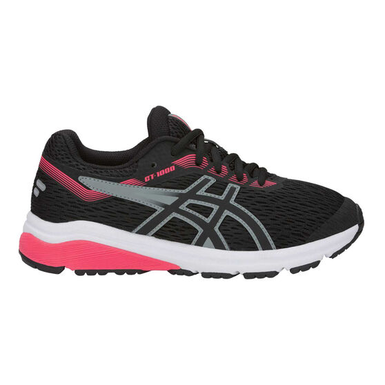 Asics GT 1000 7 Kids Running Shoes, Black, rebel_hi-res