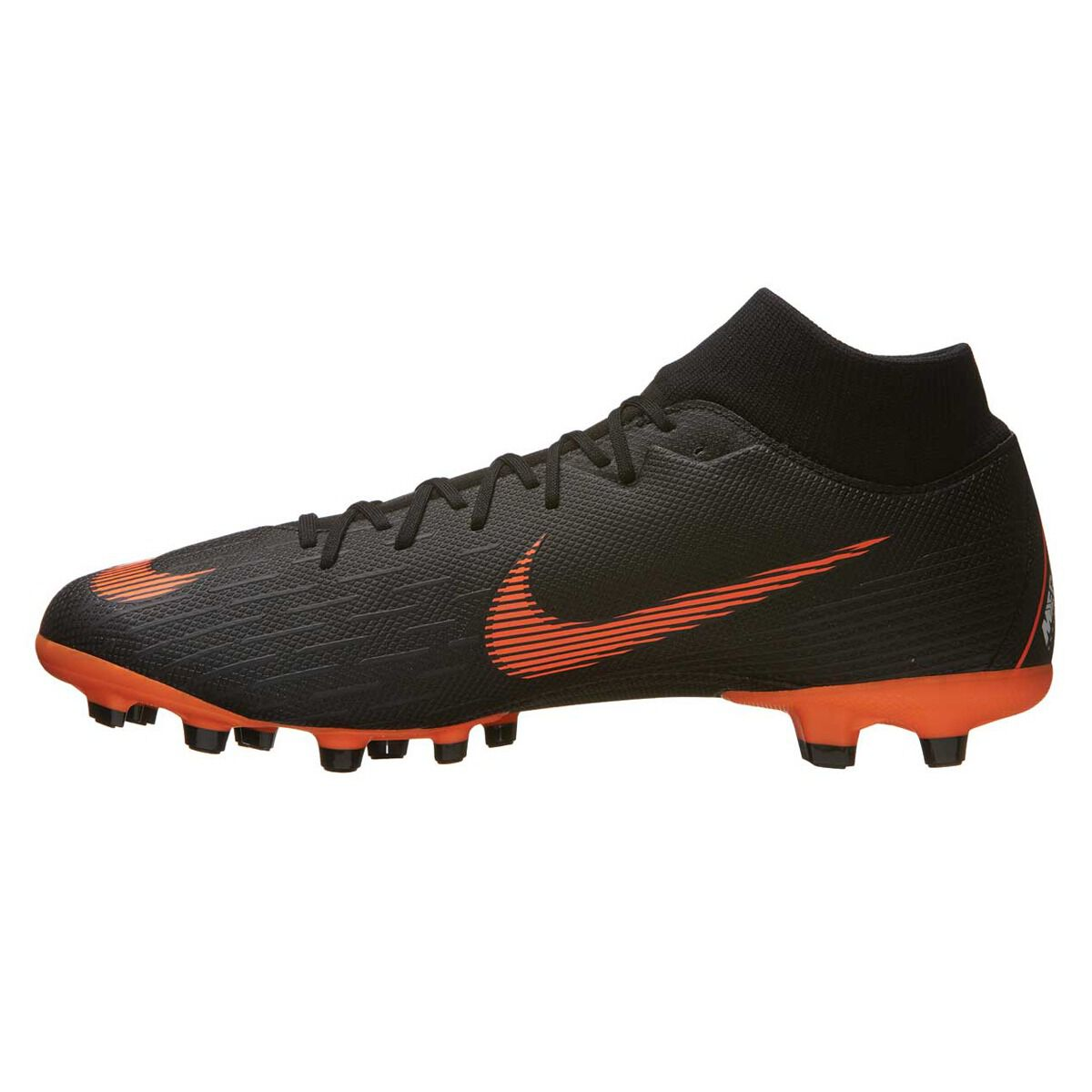 742c3cef71299 ... closeout nike mercurial superfly 6 academy mg mens football boots black  orange us 7 adult cdd31