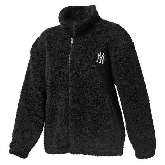 Majestic Womens NY Cosy Jacket Black XS, Black, rebel_hi-res
