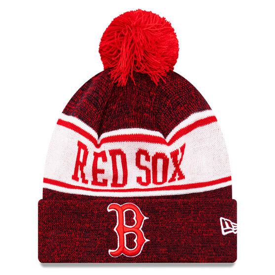 Boston Red Sox New Era Pom Knit Beanie, , rebel_hi-res