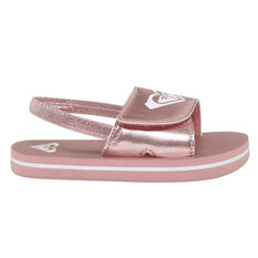 Roxy Finn Toddlers Sandals Rose Gold US 5, Rose Gold, rebel_hi-res