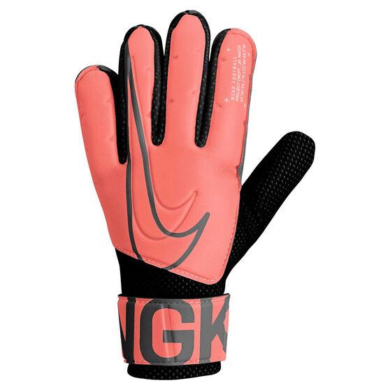 Nike Match Junior Goalkeeping Gloves, Black / Orange, rebel_hi-res