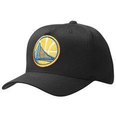 Mitchell and Ness Golden State Warriors Team Logo 110 Cap Black OSFA, , rebel_hi-res