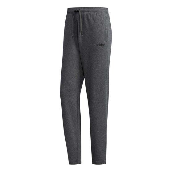 adidas Mens Essentials Fleece Pants Grey S, Grey, rebel_hi-res