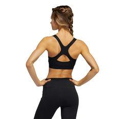 adidas Womens Believe This Sports Bra Black XS, Black, rebel_hi-res