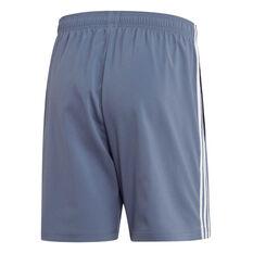 adidas Mens Essentials 3-Stripes Chelsea Shorts Navy XS, Navy, rebel_hi-res