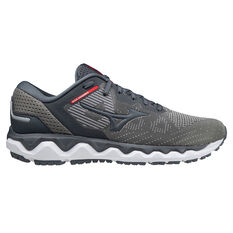 Mizuno Wave Horizon 5 Mens Running Shoes Grey US 8, Grey, rebel_hi-res