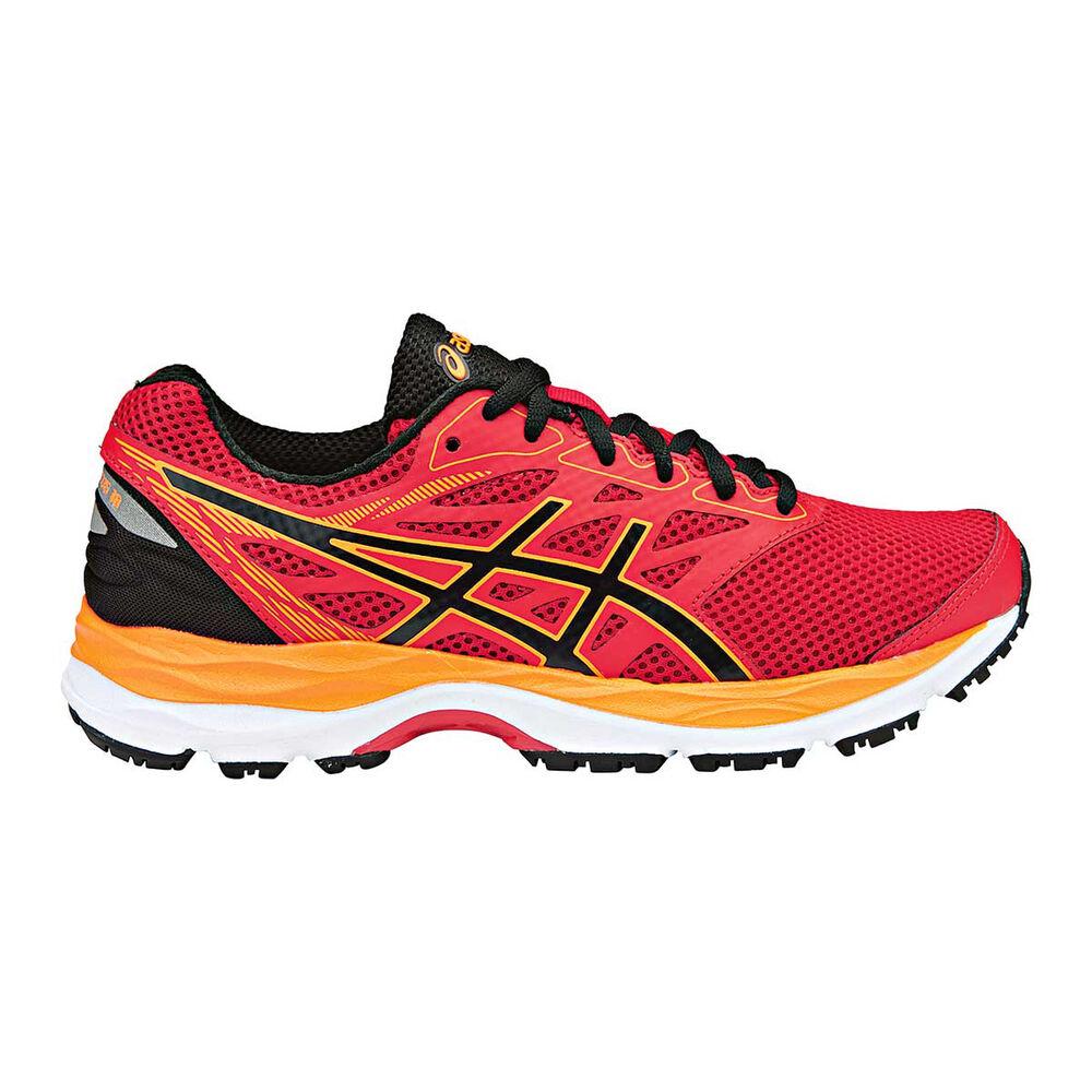 Asics Gel Cumulus 18 Boys Running Shoes Red   Black US 4  be1af51708