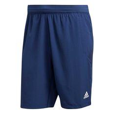 adidas Mens 4KRFT Woven Shorts Blue S, Blue, rebel_hi-res