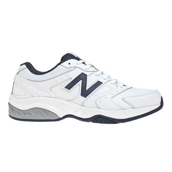 b52c308994874 New Balance 624 Mens Crossing Training Shoes White / Navy US 7, White / Navy