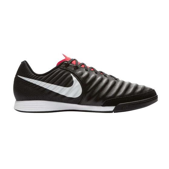Nike Tiempo LegendX VII Academy Mens Indoor Soccer Shoes, Black / White, rebel_hi-res