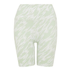 L'urv Womens After Life 7/8 Shorts Green XS, Green, rebel_hi-res