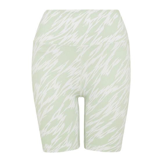 L'urv Womens After Life 7/8 Shorts, Green, rebel_hi-res