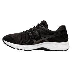 Asics GEL Contend 6 4E Mens Running Shoes Black / Grey US 7, Black / Grey, rebel_hi-res
