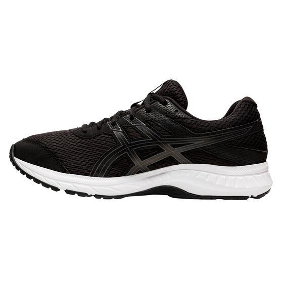 Asics GEL Contend 6 4E Mens Running Shoes, Black / Grey, rebel_hi-res