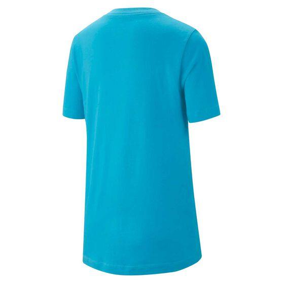 Nike Boys JDI T-Shirt Blue L, Blue, rebel_hi-res