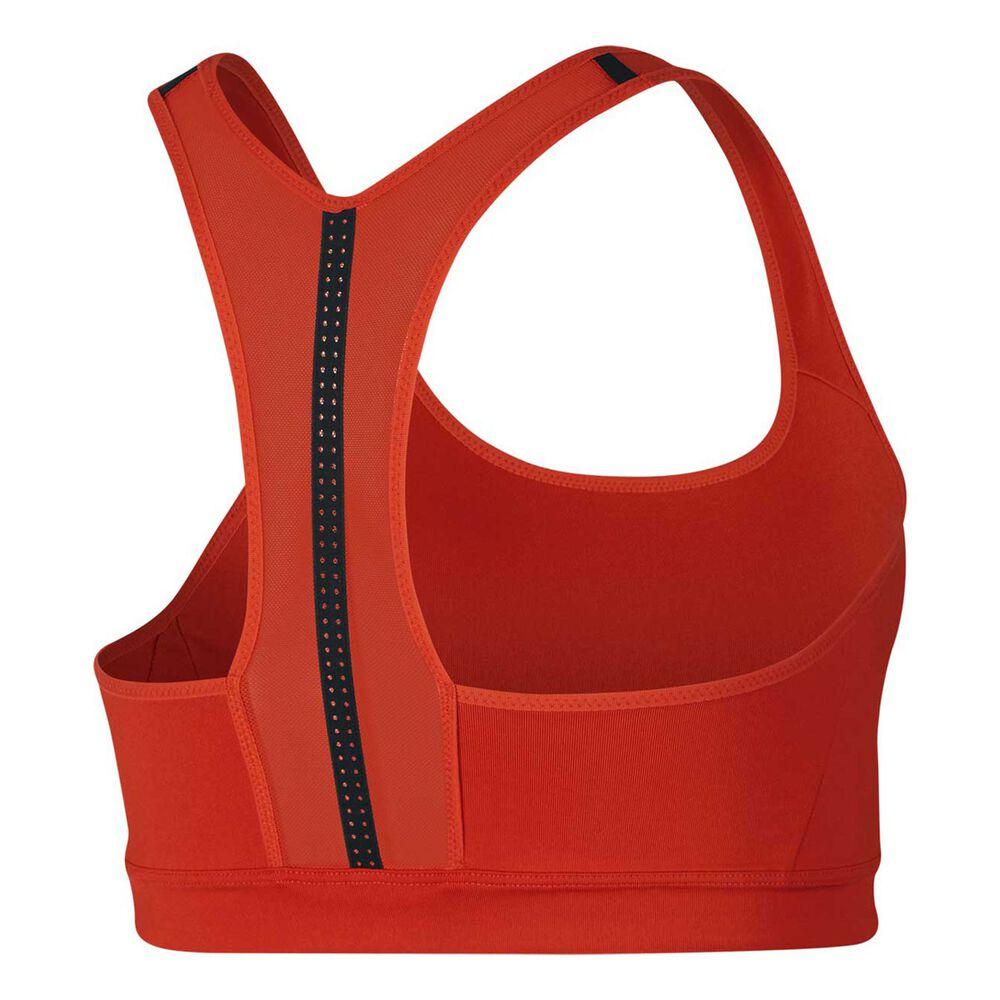 23f5d19787a71 Nike Womens Impact Sports Bra Red   Black XS Adult