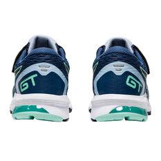 Asics GT 1000 9 Kids Running Shoes, Blue, rebel_hi-res
