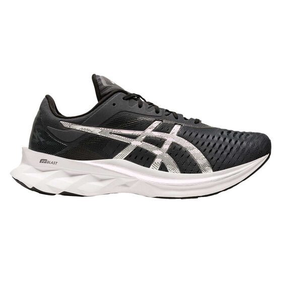 Asics Novablast Platinum Mens Running Shoes, Charcoal/Black, rebel_hi-res