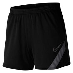 Nike Womens Dri FIT Academy Pro Soccer Shorts Black XS, Black, rebel_hi-res