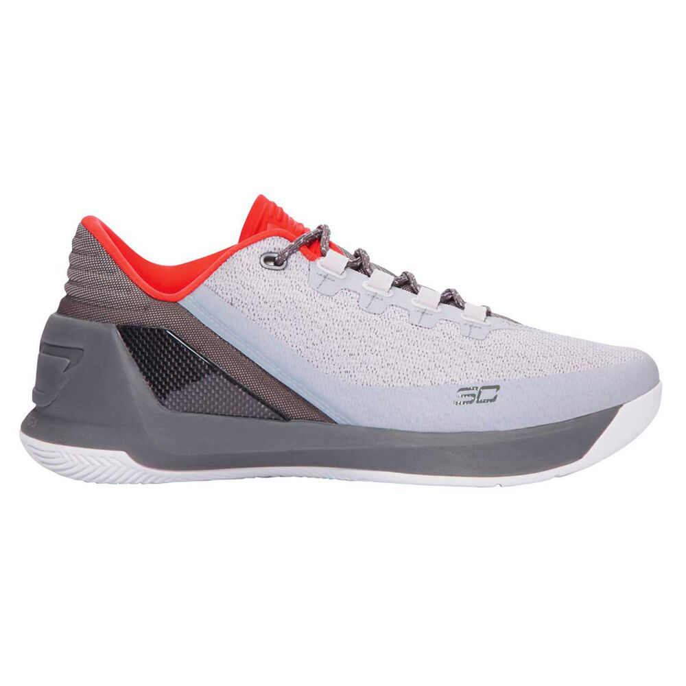 cfd3445e90b Under Armour Curry 3 Low Mens Basketball Shoes Grey   Black US 7 ...