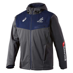 Wallabies 2018 Mens Sideliner Jacket, , rebel_hi-res