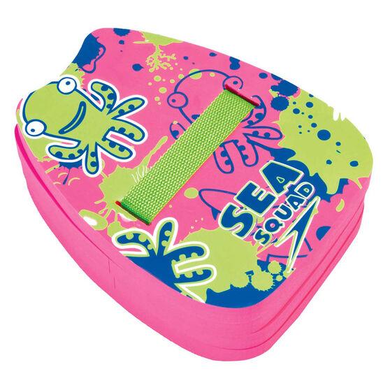 Speedo Sea Squad Pink Back Float, , rebel_hi-res