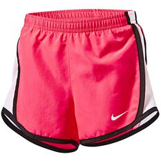 Nike Girls Dri-FIT Tempo Shorts Pink / White 4, Pink / White, rebel_hi-res