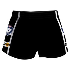Cougar Sportswear V.C.F.L Training Shorts Black M, Black, rebel_hi-res