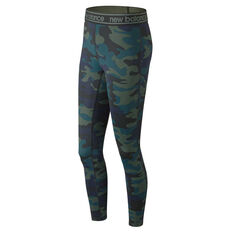New Balance Colourblock Accelerate Tights Camo XS, Camo, rebel_hi-res