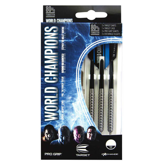 Target World Champions 80 Tungsten Darts, , rebel_hi-res