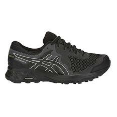 Asics GEL Sonoma 4 GTX Womens Trail Running Shoes Black / Grey US 6, Black / Grey, rebel_hi-res