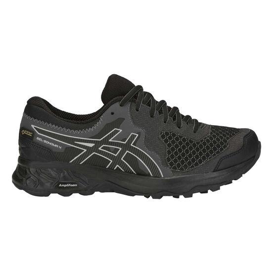 Asics GEL Sonoma 4 GTX Womens Trail Running Shoes, Black / Grey, rebel_hi-res