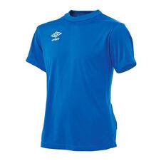 Umbro Kids League Knit Jersey Royal Blue XS, Royal Blue, rebel_hi-res